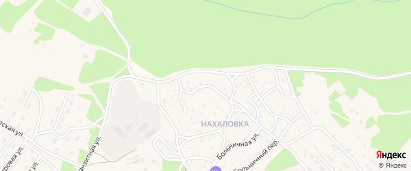 Ольховый переулок на карте поселка Таксимо с номерами домов