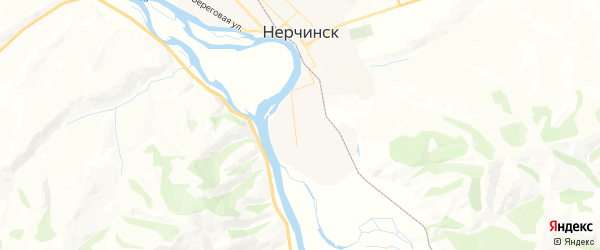 Карта Нерчинска с районами, улицами и номерами домов: Нерчинск на карте России
