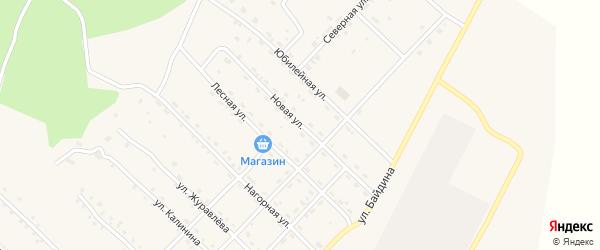 Новая улица на карте поселка Ерофея Павловича с номерами домов