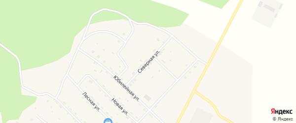 Северная улица на карте поселка Ерофея Павловича с номерами домов