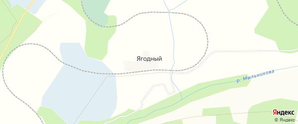 Карта Блокпоста Ягодного железнодорожного поста в Амурской области с улицами и номерами домов