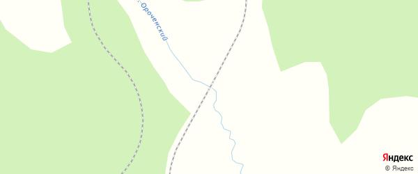 Дорожная улица на карте железнодорожного поста Читкана с номерами домов