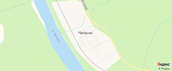 Карта поселка Чильчи в Амурской области с улицами и номерами домов