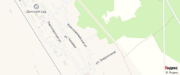 Дальний переулок на карте поселка Уруши с номерами домов
