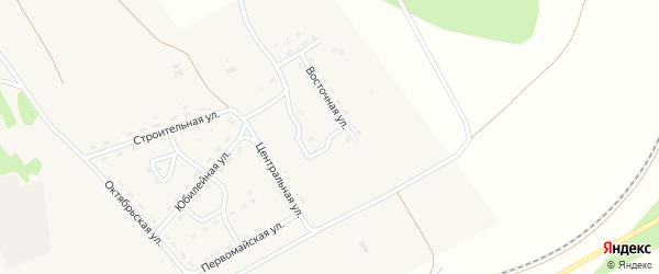 Улица Гагарина на карте поселка Уруши с номерами домов