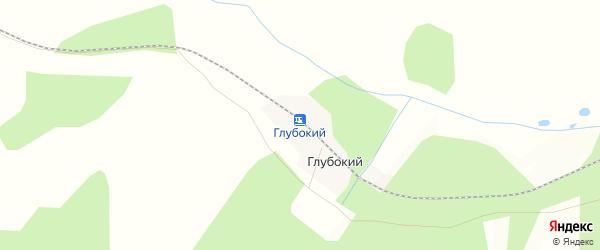 Карта железнодорожной станции Глубокого в Амурской области с улицами и номерами домов
