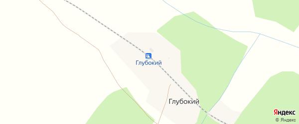 Рабочая улица на карте железнодорожной станции Глубокого с номерами домов