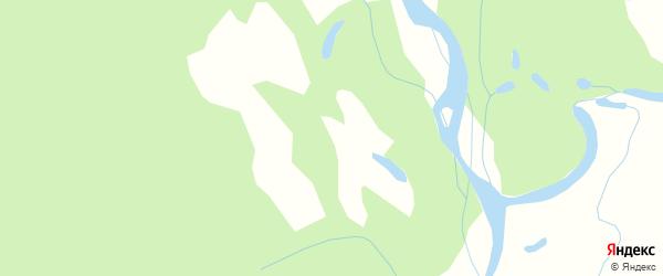 Карта Большей Омутной железнодорожной станции в Амурской области с улицами и номерами домов