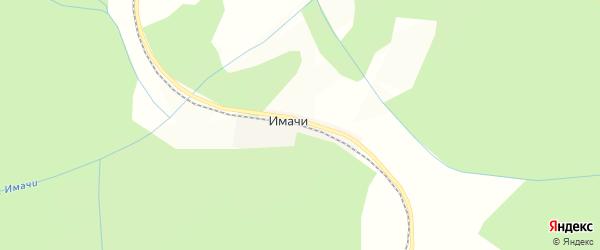 Карта железнодорожной станции Имачи в Амурской области с улицами и номерами домов
