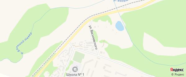 Улица Василевского на карте Сковородино с номерами домов