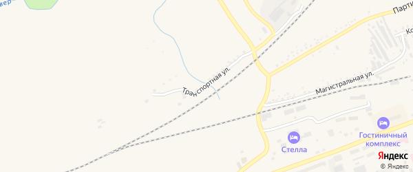 Транспортная улица на карте Сковородино с номерами домов