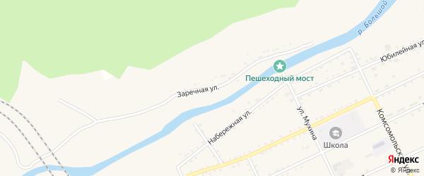 Заречная улица на карте Сковородино с номерами домов
