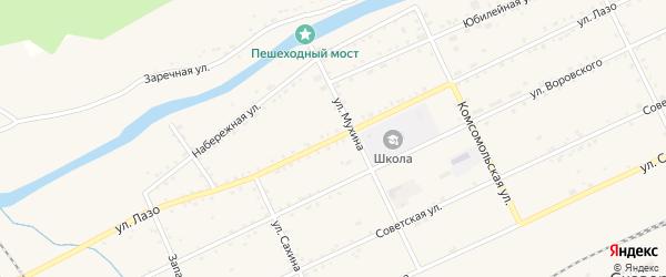 Улица Лазо на карте Сковородино с номерами домов