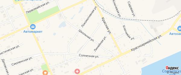 Амурская улица на карте Сковородино с номерами домов