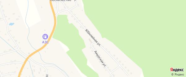 Юбилейная улица на карте села Соловьевск с номерами домов