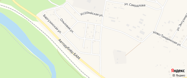 Улица Монтажников на карте Восточного поселка с номерами домов