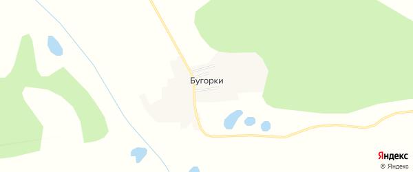 Карта села Бугорки в Амурской области с улицами и номерами домов