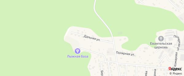 Дальняя улица на карте Тынды с номерами домов