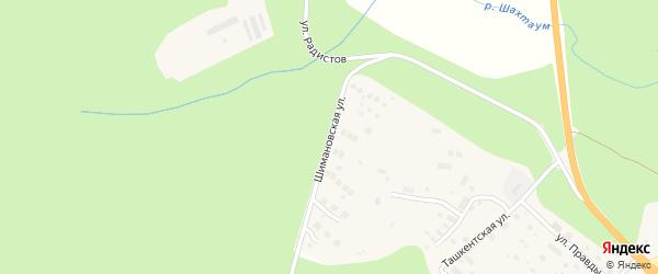 Шимановская улица на карте Тынды с номерами домов