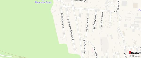 Улица Автомобилистов на карте Тынды с номерами домов