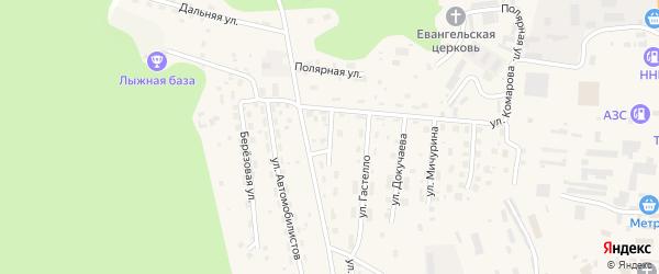 Почтовая улица на карте Тынды с номерами домов