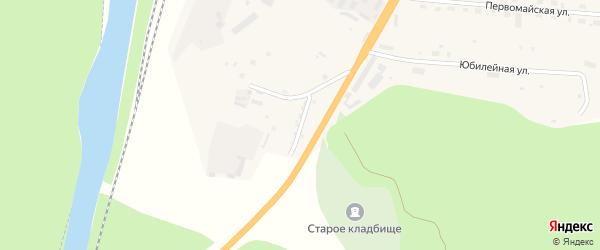 Улица Гвоздевского на карте Тынды с номерами домов
