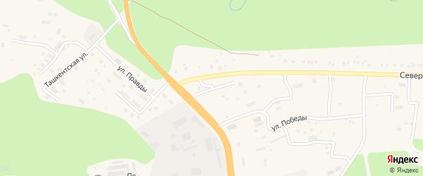 Родниковая улица на карте Тынды с номерами домов