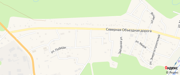 Улица Ударников на карте Тынды с номерами домов