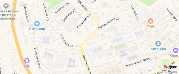 Депутатская улица на карте Тынды с номерами домов
