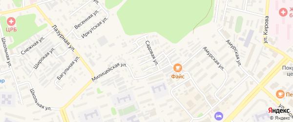 Донецкая улица на карте Тынды с номерами домов