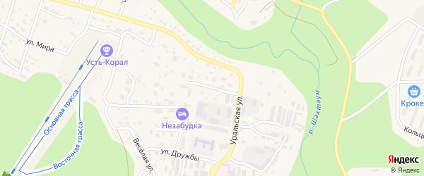 Мурманская улица на карте Тынды с номерами домов