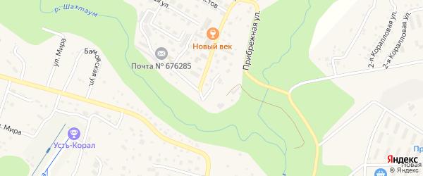 Госпитальная улица на карте Тынды с номерами домов