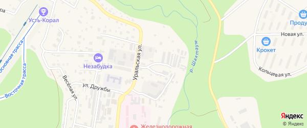 Студенческий проезд на карте Тынды с номерами домов