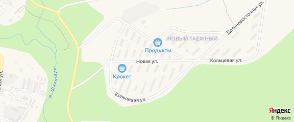 Новая улица на карте Тынды с номерами домов