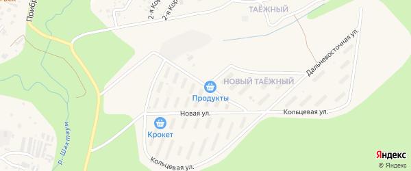 Кольцевая улица на карте Тынды с номерами домов