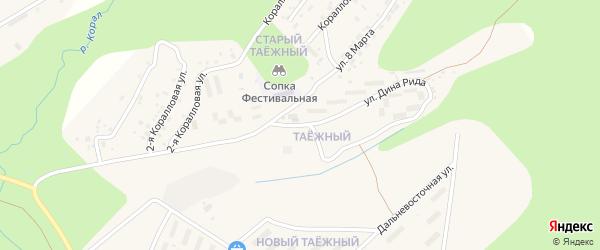 Улица Дина Рида на карте Тынды с номерами домов