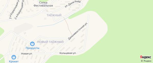 Дальневосточная улица на карте Тынды с номерами домов