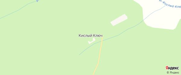 Карта села Кислого Ключа в Амурской области с улицами и номерами домов