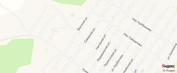 Северная улица на карте поселка Магдагачей с номерами домов
