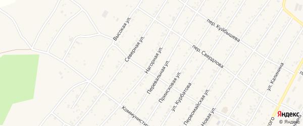 Нагорная улица на карте поселка Магдагачей с номерами домов