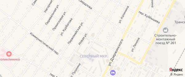 Интернациональный переулок на карте поселка Магдагачей с номерами домов