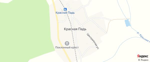 Озерная улица на карте станции 2 нп блок-пост Красная Падь с номерами домов