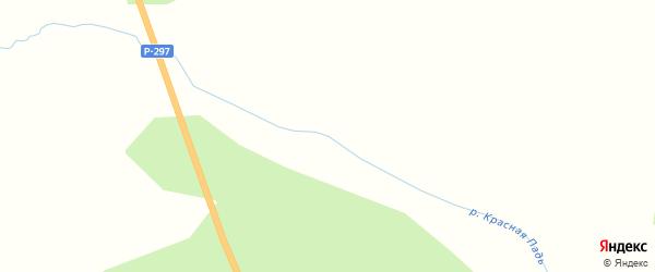 Дорожный переулок на карте станции 2 нп блок-пост Красная Падь с номерами домов