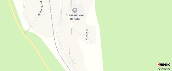 Новая улица на карте села Чалганы с номерами домов