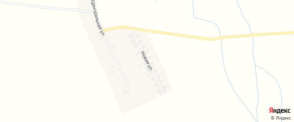Новая улица на карте села Гулика с номерами домов