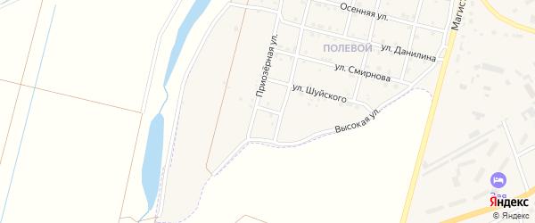 Пасечная улица на карте Зеи с номерами домов