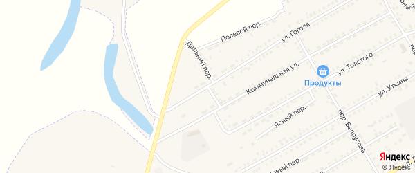 Дальний переулок на карте Зеи с номерами домов