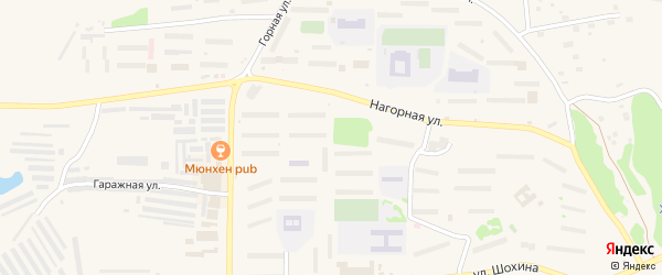 Светлый микрорайон на карте Зеи с номерами домов