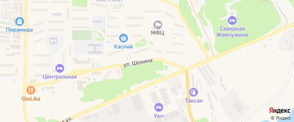 Улица Шохина на карте Зеи с номерами домов