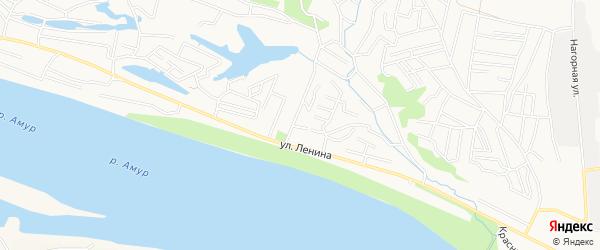 СТ Белый налив на карте Благовещенска с номерами домов